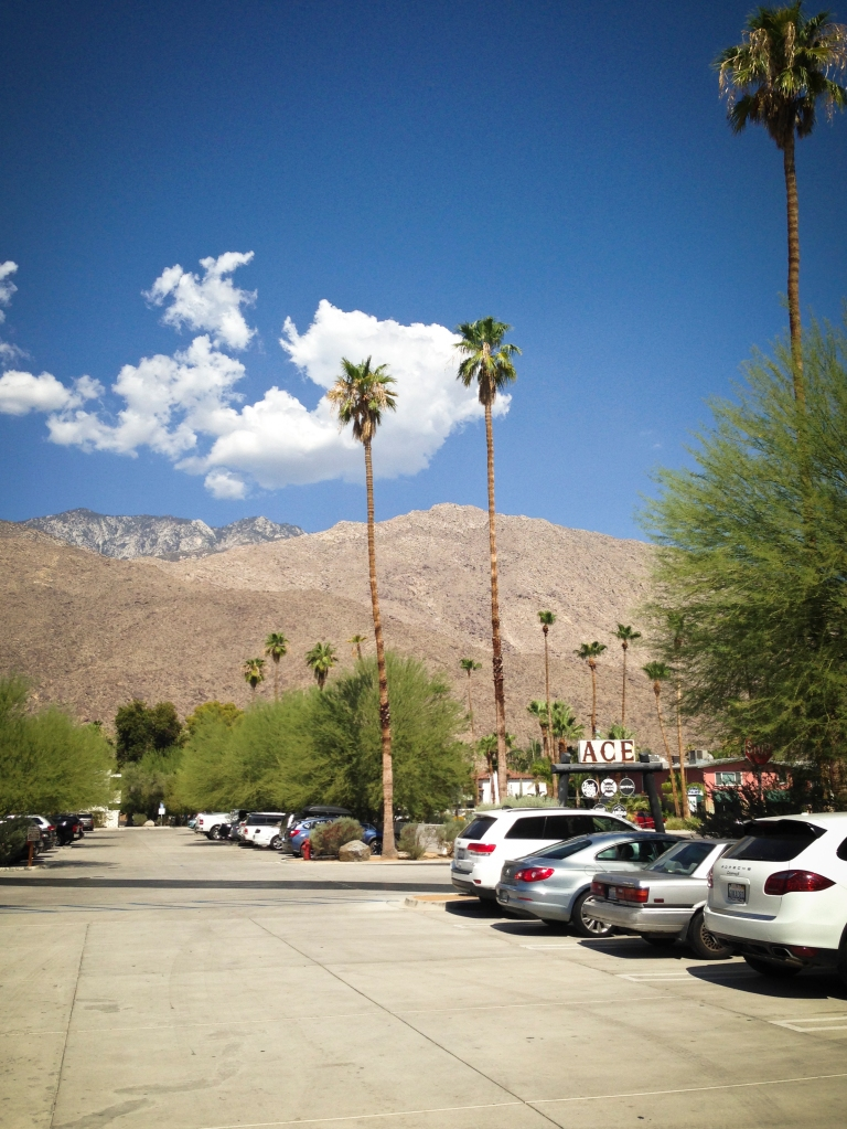 The view walking into the diner was beautiful, imagine feeling it at 109 degrees.