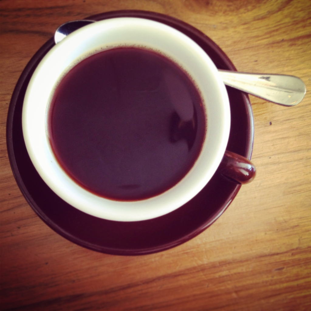 If you're drinking black coffee, it should come from a press.