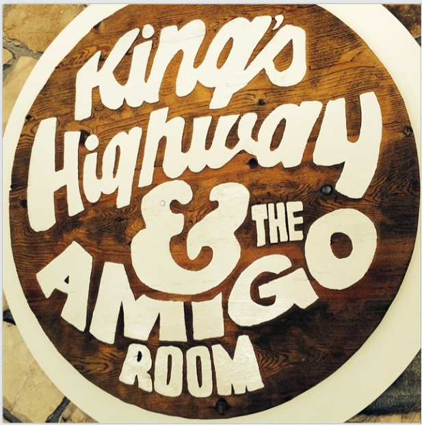 The Amigo Room is the hotel bar.