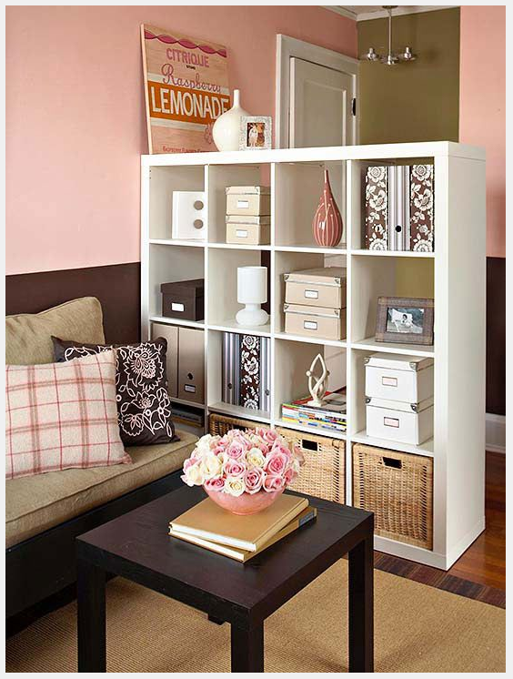This is a great idea for more storage. That will be a huge must after leaving a large house and moving into a smaller space. http://www.bhg.com/decorating/small-spaces/apartments/apartment-storage/?sssdmh=dm17.743212&esrc=nwdi062014