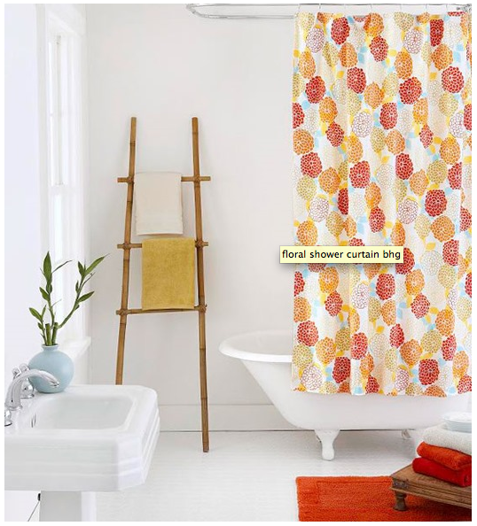 What a great reminder that just adding great color, towels and shower curtains can really add to a rental bathroom!  http://www.bhg.com/bathroom/storage/storage-solutions/bathroom-storage-ideas/#page=11