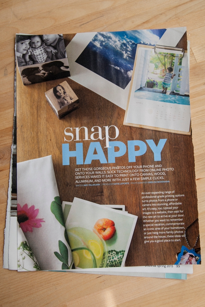 Here is the article from Refresh Magazine. I love tiny pictures.