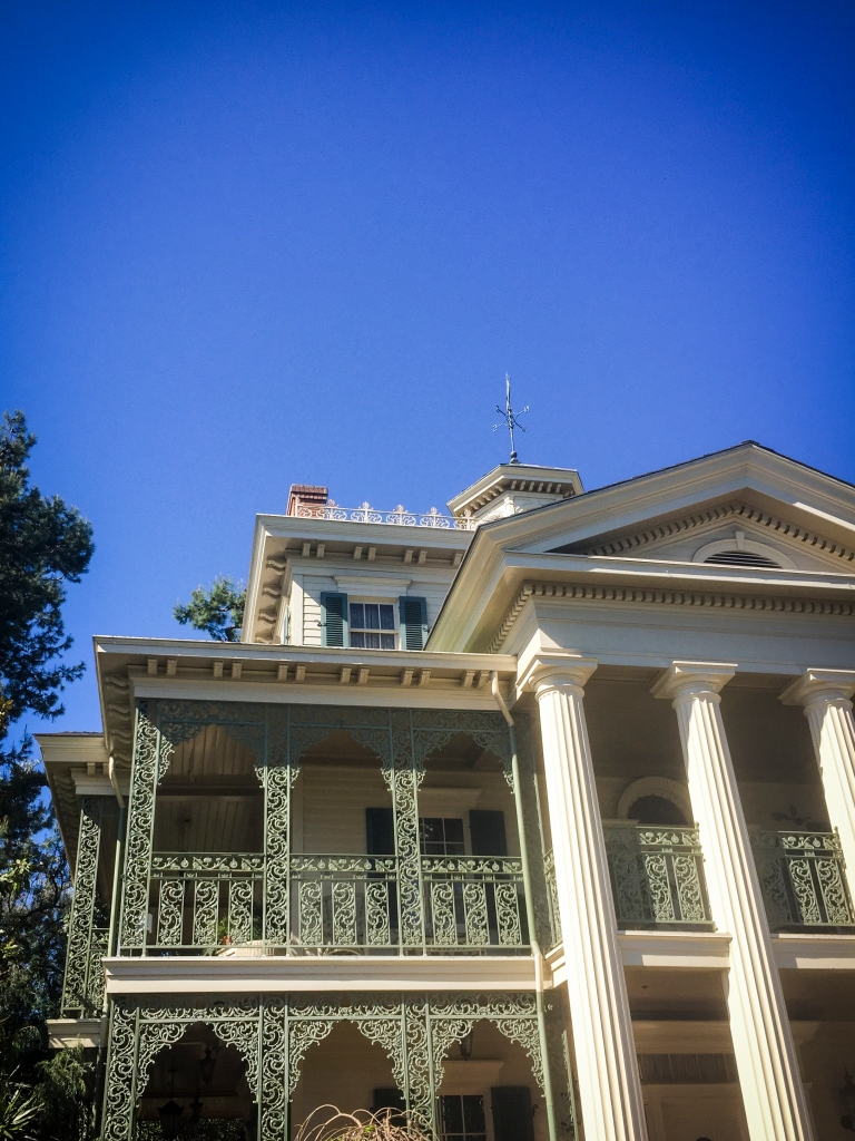 Haunted mansion.
