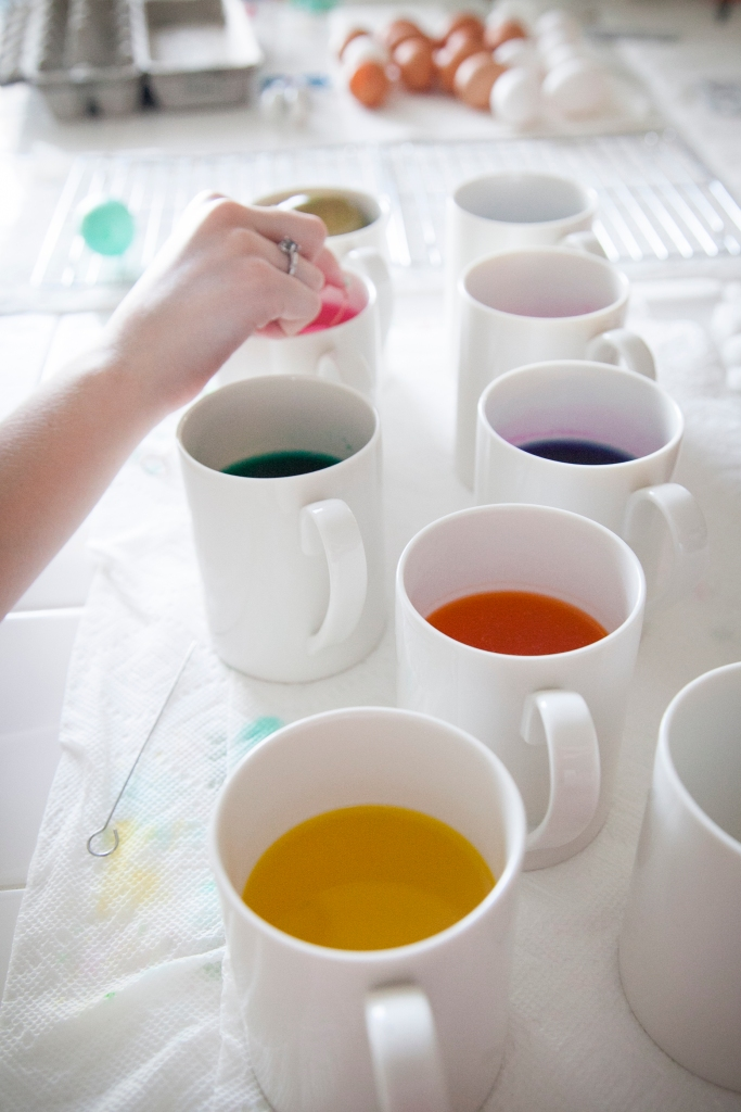 All of the colors! I love egg dye!