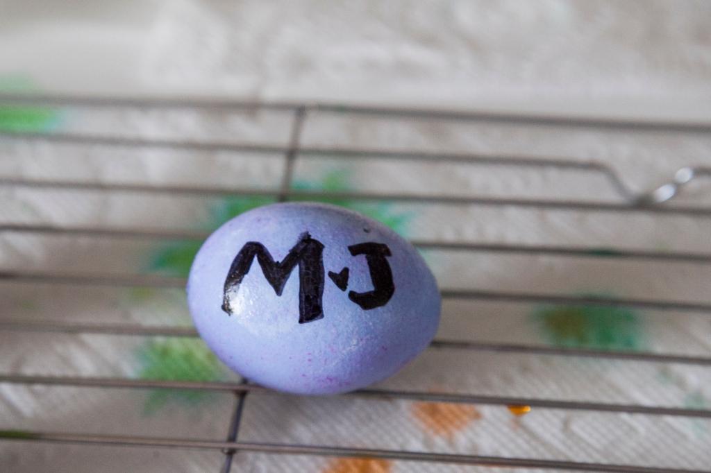 Megan Johnson's egg...