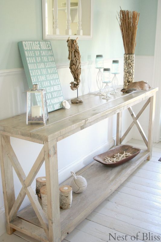 I'm really loving the moulding idea, I think it would really warm up the house and add really nice detail. I like the table here too. http://www.nestofbliss.com/2014/06/summer-tour.html