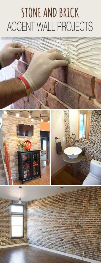 I'm really into the look of these brick tiles and may cover the fire place wall in them. I love the feel of the room. http://www.decoratingyoursmallspace.com/stone-and-brick-accent-wall-projects/
