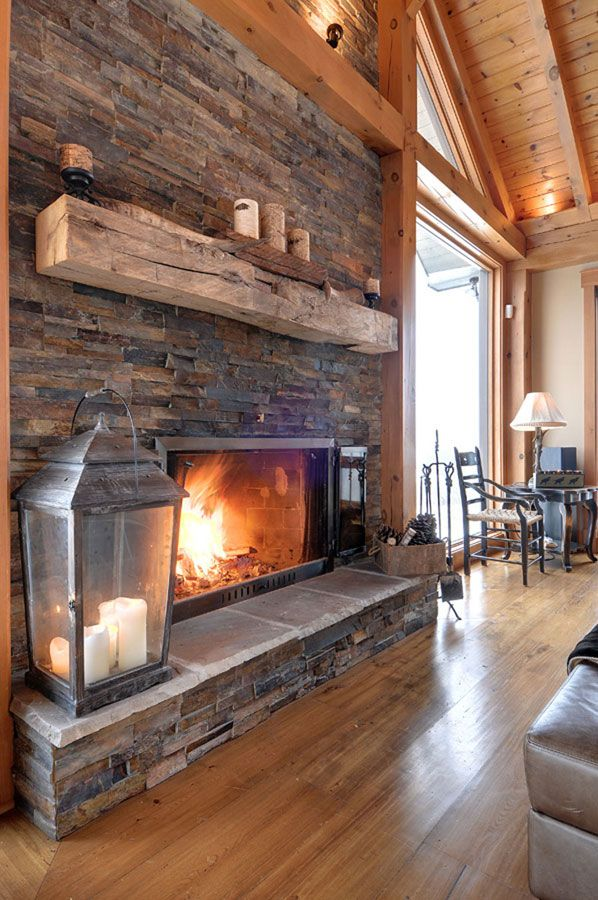 The wood mantle, right? I love it. http://www.normerica.com/Timber-Frame-Interior-Design